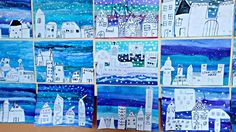 Tempera, Winter Christmas, Art Lessons, Crafts, Winter Time, Paint, Color Art Lessons, Manualidades, Handmade Crafts