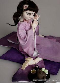 Фарфоровые шарнирные куклы Жуковой Марии