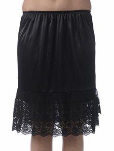 Layers and Lace Half Slip Lace Skirt Extender - http://www.darrenblogs.com/2016/08/layers-and-lace-half-slip-lace-skirt-extender/