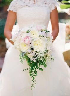 15+ Beautiful Pink Peony Wedding Bouquet Ideas