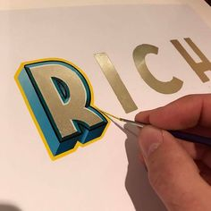 The best of design and typography. Typography Letters, Graphic Design Typography, Lettering Design, Japanese Typography, Typography Poster, Fashion Typography, Painted Letters, Hand Painted Signs, Types Of Lettering
