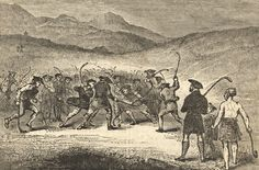 Shinty has been played in Scotland for centuries.