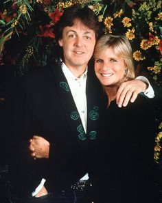 Paul McCartney and Linda Eastman-McCartney