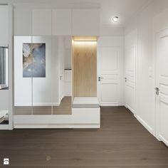Warsaw apartment on Behance Sweet Home, House Design, Flooring, Living Room, Interior Design, Closet, Inspiration, Furniture, Home Decor