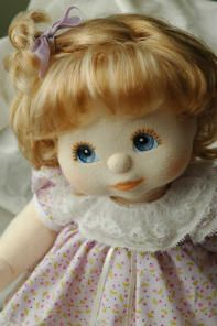 My Child Doll restoration -- if I can track down my old doll, I'd love to send her to this lady to be restored!