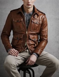 Quien dijo: Brown Leather