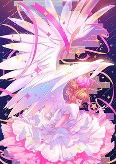 Cardcaptor Sakura, Sakura Kinomoto, CLAMP / I'm a dreamer. Cardcaptor Sakura, Tomoyo Sakura, Sakura Card Captor, Syaoran, Manga Art, Manga Anime, Anime Art, Cute Anime Pics, Anime Love