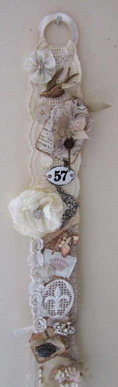 Shabby vintage wall hanging