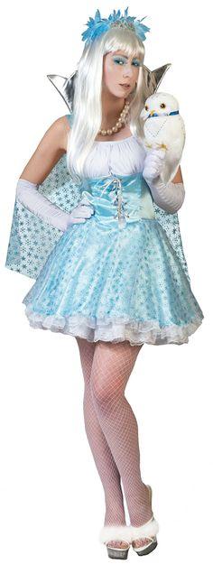 Der Winter ist eiskalt, glatt und hässlich? Das möchte unsere Winterprinzessin gar nicht hören! Mit diesem Kostüm verwandeln Sie sich in eine sexy Eisprinzessin. Das Kostüm für Damen besteht aus einem kurzen Kleid und elegantem...