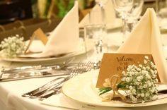 ワンランク上のテーブルコーデ♡ゲストテーブルに置く〔かすみ草のトーションフラワー〕が可愛すぎ♡ | marry[マリー]