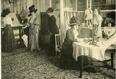 Jacques Doucet's sales salon, 1910