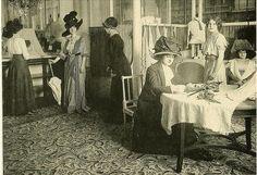 Jacques Doucet's sales salon, 1910