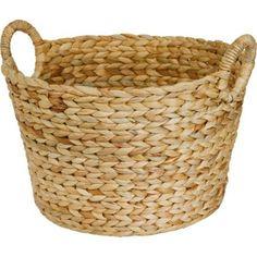 Large Round Storage Basket - Natural