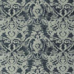 morel - indigo fabric | Royal Collection