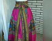 Angelina  Belle Maxi Skirt with Sash