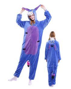 574b59ca5037 Donkey Onesie Pajamas Flannel Onesie Pajamas