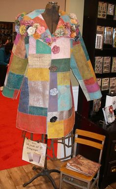 More CHA fun! … Without further ado, here's #1-5 of my top ten cool stuff at CHA 2010: #5. Grungepaper Coat: Great patchwork coat made from scrapbooking Grungepaper. Check out the fab f…