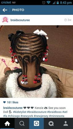 Creative...I wear braids to promote hair growth