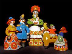 Дымковская игрушка | Рукодельница