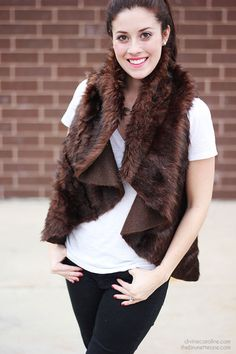 Create Your Own DIY Fur Vest
