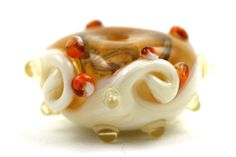 Lampwork Glass Beads by Beadscrumptious. by Beadscrumptious, £10.00 www.beadscrumptious.co.uk #lampworkbeads