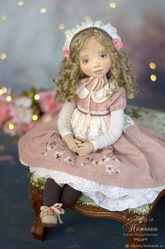 Купить Дикая роза, текстильная будуарная кукла в интернет магазине на Ярмарке Мастеров