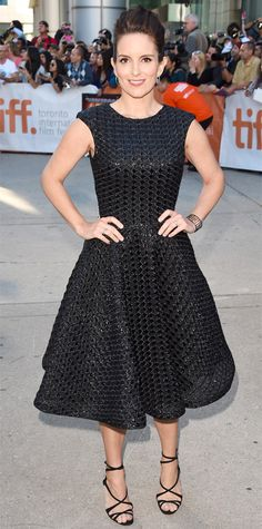 The Best Red Carpet Looks from TIFF 2014 - Tina Fey from #InStyle
