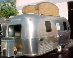 airstream. Buhahaaaa this is exactly what I think when I see one!! Cute!!