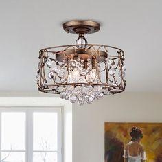 Flush Mount Chandelier, Dining Chandelier, Bronze Chandelier, Metallic Wallpaper, Wallpaper Roll, Light Bulb Types, Drum Shade, Glass Shades, 3 D