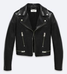 Original Motorcycle Jacket in Black Leather – Ready To Wear – Yves Saint Laurent Saint Laurent Store, Saint Laurent Paris, Mode Style, Style Me, Best Leather Jackets, Motorcycle Jacket, Moto Jacket, Biker Jackets, Outerwear Jackets