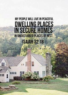 Isaiah 32:18