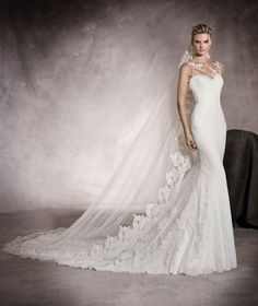 PRUNELLE - Brautkleid mit herzförmigem Dekolleté | Pronovias