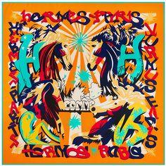 2016 New Twill Silk Square Scarf Spain Style Women Scarves&Wrap Silk Neckerchief Lady Foulard Luxury Brand Bandana Hijab Cheap Scarves, Silk Scarves, Bandana, Wholesale Scarves, Paris Design, Kerchief, Painted Letters, Silk Shawl, Square Scarf