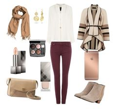 """""""outfit day"""" by alexia7528 on Polyvore featuring 7 For All Mankind, Derek Lam, Augusta, UGG Australia, H&M, Karen Millen, Burberry, Chanel and Mura"""