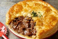 Beef + Stilton pie recipe – to die for! Beef + Stilton pie recipe – to die for! Scottish Recipes, Irish Recipes, Meat Recipes, Cooking Recipes, Recipies, Scottish Meat Pie Recipe, Lamb Pie Recipes, English Recipes, Recipes For Steak