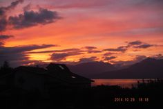 October sunset in Silverdale, WA area. WATAC Mission. Photo by Sister Autumn Jade Baldwin