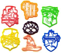 Harry Potter Cookie Cutter Stencil by TorisPartyKitchen on Etsy
