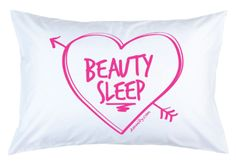 College Teen Freshman Housewarming Gifts for Their Dorm:  Beauty Sleep Pillow Case @ Dormify