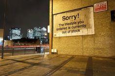 Banksy, Poplar 2011 on ArtStack #banksy #art