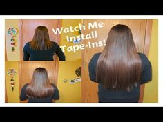 ♥52 Weeks of Beauty - 2014 Week 3 - Watch Me Install Tape-Ins on My Friend Farrah!♥ REMOVERS: ♥WEFT RELEASE: http://52weeksofbeauty.com/shop/page/2/ or on Am...