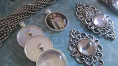 DIY Complete to make 9 Vintage Style Antique Silver by trusted, $20.00