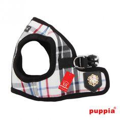 Puppia JUNIOR HARNESS B Black