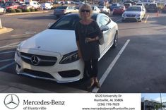 Congratulations Donna on your #Mercedes-Benz #C-Class from Greg Melbo at Mercedes-Benz of Huntsville!  https://deliverymaxx.com/DealerReviews.aspx?DealerCode=TSTE  #Mercedes-BenzofHuntsville