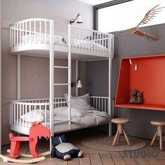 łóżko piętrowe w pokoju dziecięcym - zdjęcie od MIKOŁAJSKAstudio - Pokój dziecka - Styl Nowoczesny - MIKOŁAJSKAstudio