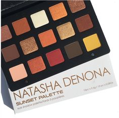 Natasha Denona Sunset Eyeshadow Palette Review & Swatches