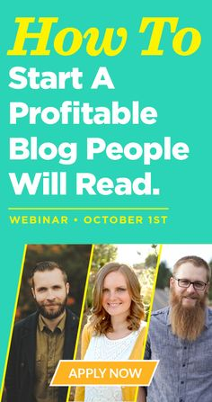 Become a professional blogger. These guys (and girl) are legit.