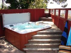 Soak away your cares in the warm, inviting water in our hot tub. Pasadena/Altadena - Clothing Optional Home Network