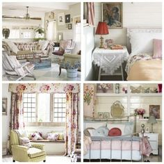 Camere country chic