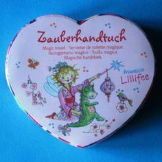 Serviette magique Lillifee, petit cadeau enfant original.