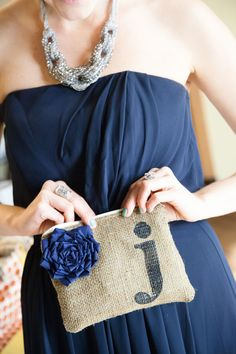 Jewelry & gifts for the bridesmaids   Fall Rustic Glam Nashville Wedding In Earthy Colors of Brown, Cream, Navy & Orange   Photograph by BSG Photography  http://storyboardwedding.com/fall-nashville-rustic-glam-wedding/
